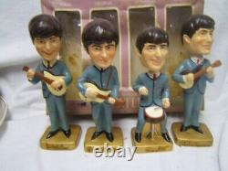 1964 Beatles Bobblehead Set Excellent condition in Fair Original Box