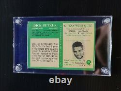 1966 Philadelphia Dick Butkus Rookie Card #31 (EXCELLENT CONDITION)