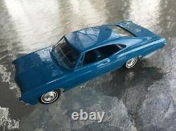 1967 Chevy 427 Impala SS Original Dealer Promo Model Car Excellent Condition
