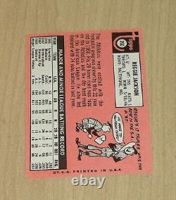 1969 Topps Reggie Jackson #260 rookie card Excellent Shape