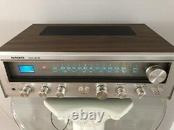 1978 Nikko NR-615 Stereo Receiver AM/FM USED Excellent Condition In Original Box