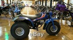 1984 Honda ATC 110 Rare Factory Blue In Excellent Original Condition, Runs NEW