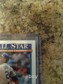 1991 Topps Ken Griffey Seattle Mariners #392 Excellent Condition! Extremely Rare