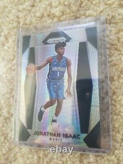 2017-18 Panini Prizm Jonathan Isaac Rc Hyper Prizm Rookie Excellent Condition