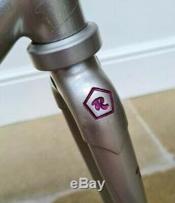 52.5cm ROSSIN PERFORMANCE COLUMBUS GENIUS FRAMESET EXCELLENT ORIGINAL CONDITION