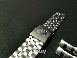 Authentic IWC PILOT 3777 21mm Stainless Steel bracelet in EXCELLENT condition