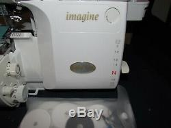 Babylock BLE1AT-2 Serger, Excellent Condition in Original Box with Paperwork