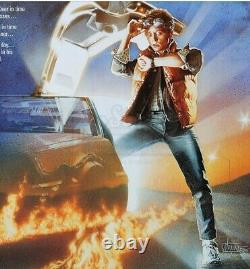 Back To The Future One Sheet. ORIGINAL. Not Reprint! Excellent Condition