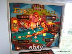 Bally Eight Ball The Fonz Pinball Machine, Excellent working condition