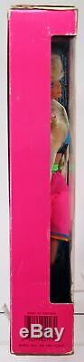 Barbie Dance Club Doll & Tape Player #4917 NIB Excellent Condition 1989 Mattel