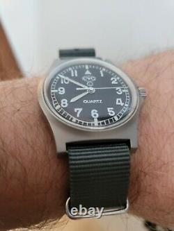 CWC G10 NATO Watch Box Papers Original Strap excellent Condition