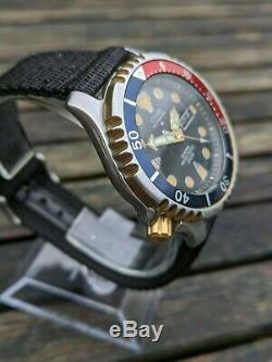 Citizen 8203-824393 Y GN-4-S Promaster w Patina Excellent Original Condition