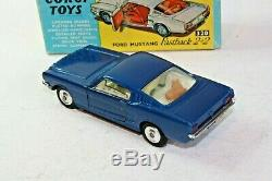 Corgi 320 Ford Mustang Hardback, Excellent Condition in Original Box