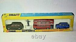 Corgi Gift Set 11 London Transport Set, Excellent Condition in Original Box