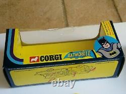 Corgi Toys 267 Batmobile Original Excellent Condition