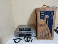 Denon DVD-3910 DVD Player Silver Excellent Condition Original Box