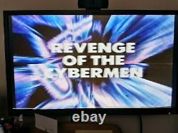 Doctor Who Revenge of the Cybermen VHS Original pre-Cert Excellent Condition