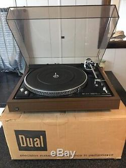 Dual cs 622 Turntable Direct Drive Excellent Condition With Original Packaging