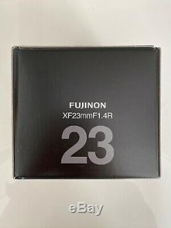 Fujifilm XF 23mm F1.4 R Wide Angle Lens, Excellent used condition, original box