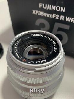 Fujifilm XF 35mm F2.0 R WR X Mount Lens Black excellent condition original box