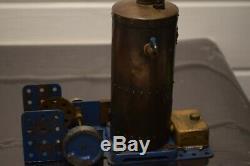 Genuine & Original 1920's Meccano Steam Engine excellent working condition