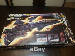 Gi Joe Cobra Night Raven Sp3 1986 Original Box Excellent Condition Mint