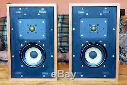 Harbeth ML Monitor speakers s/n 186 Excellent condition, with original box