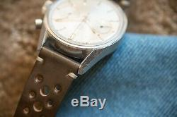 Heuer Carrera 3647S in ALL ORIGINAL, UNPOLISHED & EXCELLENT CONDITION