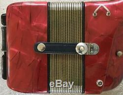 Hohner Verdi III N Accordion, Musette Tuning, Excellent Condition