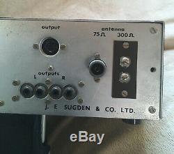 J. E. SUGDEN, R51 STERO FM TURNER. EXCELLENT CONDITION Originally Listed At $268