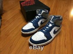 Jordan 1 True Blue Excellent Condition. Original Box. Size 11