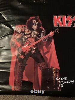 KISS 1980 AUSTRALIAN GENE SIMMONS SHOWBAG AUCOIN Excellent Condition Rare