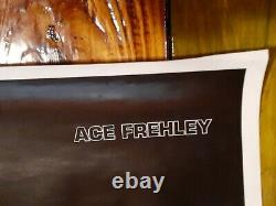 KISS Ace Frehley Excellent condition SOLO Album 1978 Aucoin Poster Very RARE