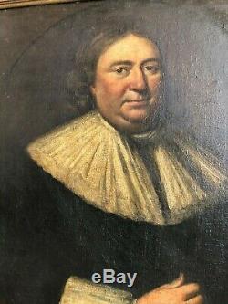 LARGE ANTIQUE 17th CENTURY OLD MASTER PORTRAIT PAINTING Excellent Condition