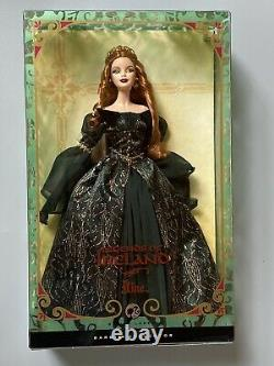 Legends of Ireland Silver Label Aine Barbie Collector NFBB Excellent Condition