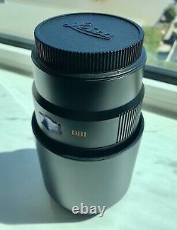 Leica APO-Tele-Elmar-S 180mm f/3.5 Lens Excellent Condition In Original Bag
