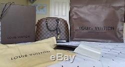 Louis Vuitton Alma Damier Ebene PM excellent condition with original Receipt