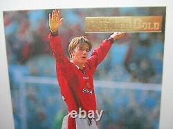 Merlin Premier Gold 96/97 # 92 David Beckham Card Excellent Near Mint Condition