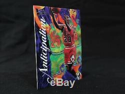 Michael Jordan 1995-96 Flair Anticipation Insert Card #2 Excellent Condition