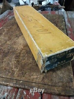 NOS Stanley Bailey No 8C Plane with Original Box Minty Excellent condition