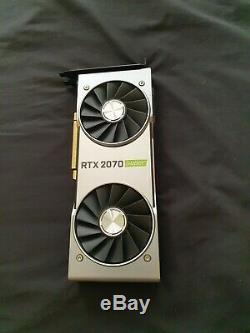 Nvidia RTX 2070 Super Founders Edition Excellent Condition, Original Plastic