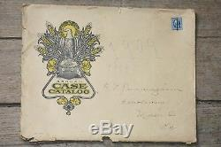 ORIGINAL 1909 J. I. Case Catalog in RARE SHIPPING SLEEVE, Excellent Condition