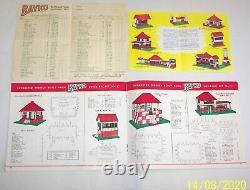 ORIGINAL VINTAGE 1958 BAYKO BUILDING SET No1 EXCELLENT CONDITION IN ORIGINAL BOX