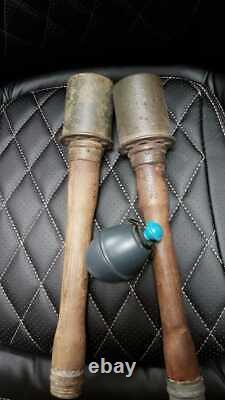 ORIGINAL WWII German M24 Potato Masher excellent condition LOOK! Layout