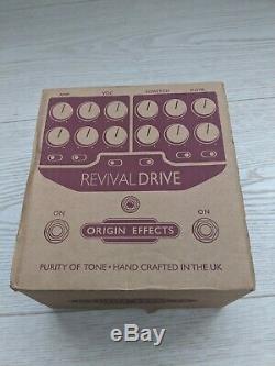 Origin Effects Revival Drive Standard Excellent Condition