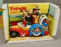 Original 1967 Corgi 802 Popeye Paddle Wagon Original Box Excellent Condition
