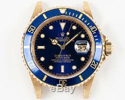 Original 1981 Rolex 18k Submariner Head MN 16808 in EXCELLENT Condition