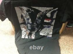 Original SLIPKNOT Iowa Tour T-Shirt 2001 Size XL Excellent Condition Heavy Metal