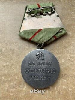 PARTISAN 1nd FIRST SOVIET RUSSIA USSR MEDAL ORIGINAL EXCELLENT CONDITION