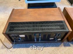 Pair of Pioneer SC-100 Preamp & SM-100 Amp, Excellent Condition, Original Boxes
